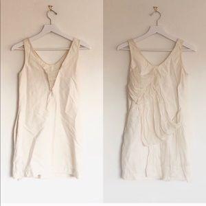 3.1 Phillip Lim Cascading Ruffle V-Neck Mini Dress